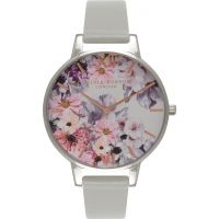 Ladies Olivia Burton Flower Show Floral Watch