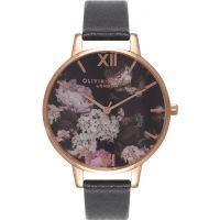 Ladies Olivia Burton Winter Garden Floral Print Watch