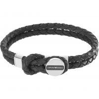 Mens Emporio Armani Stainless Steel Signature Bracelet EGS2178040