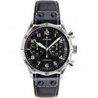 Mens Junghans Meister Pilot Chronograph Watch