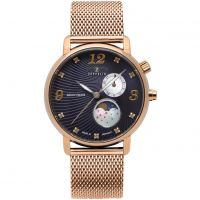 Damen Zeppelin Luna Mondphase Watch 7639M-3