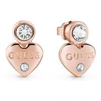Guess Dam Guessy Earrings Roséguldspläterad UBE82003
