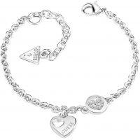 femme Guess Jewellery Heart Devotion Bracelet Watch UBB82057-L